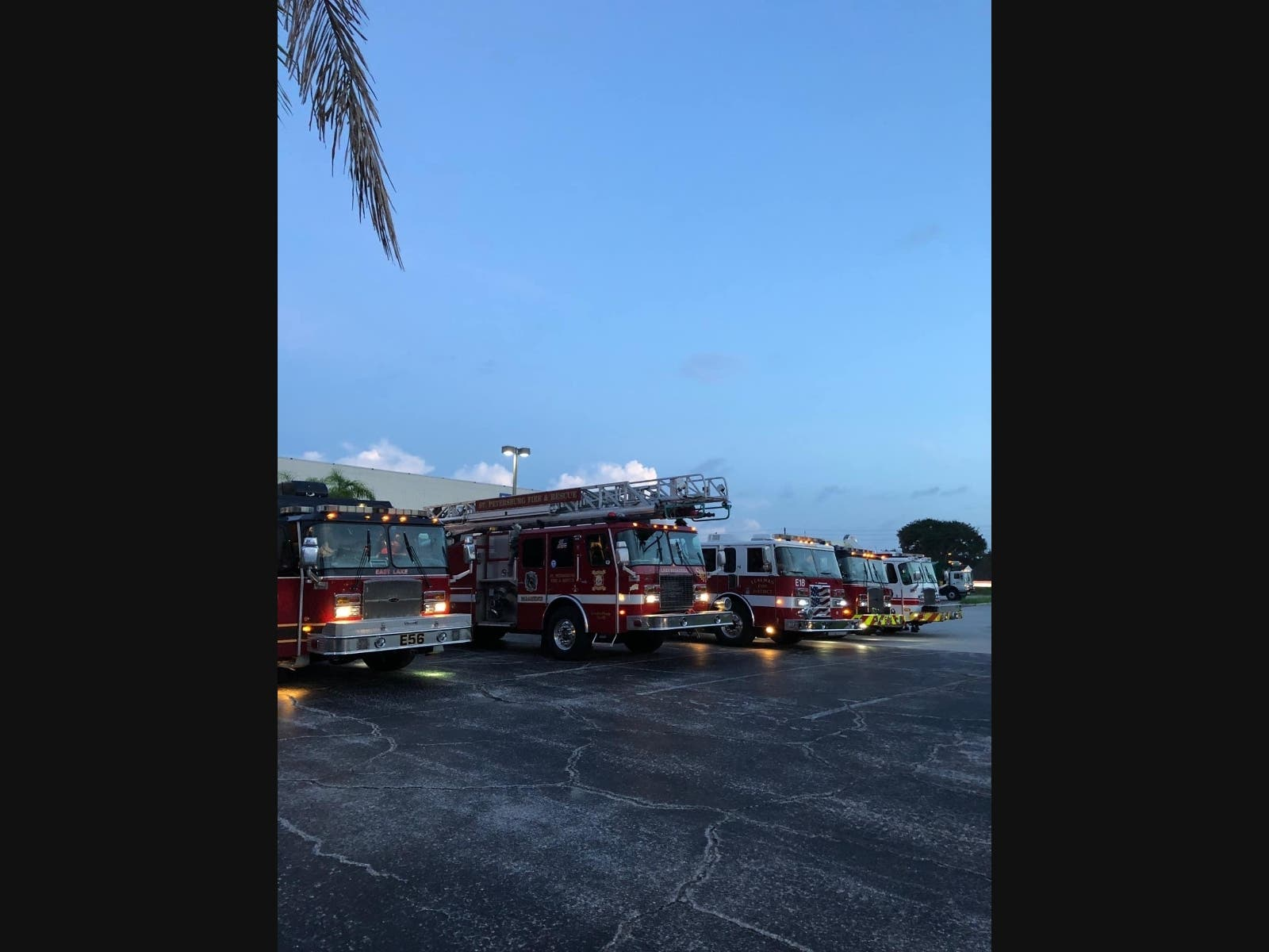 St. Pete Fire Rescue Teams Deploy To Aftermath Of Hurricane Sally