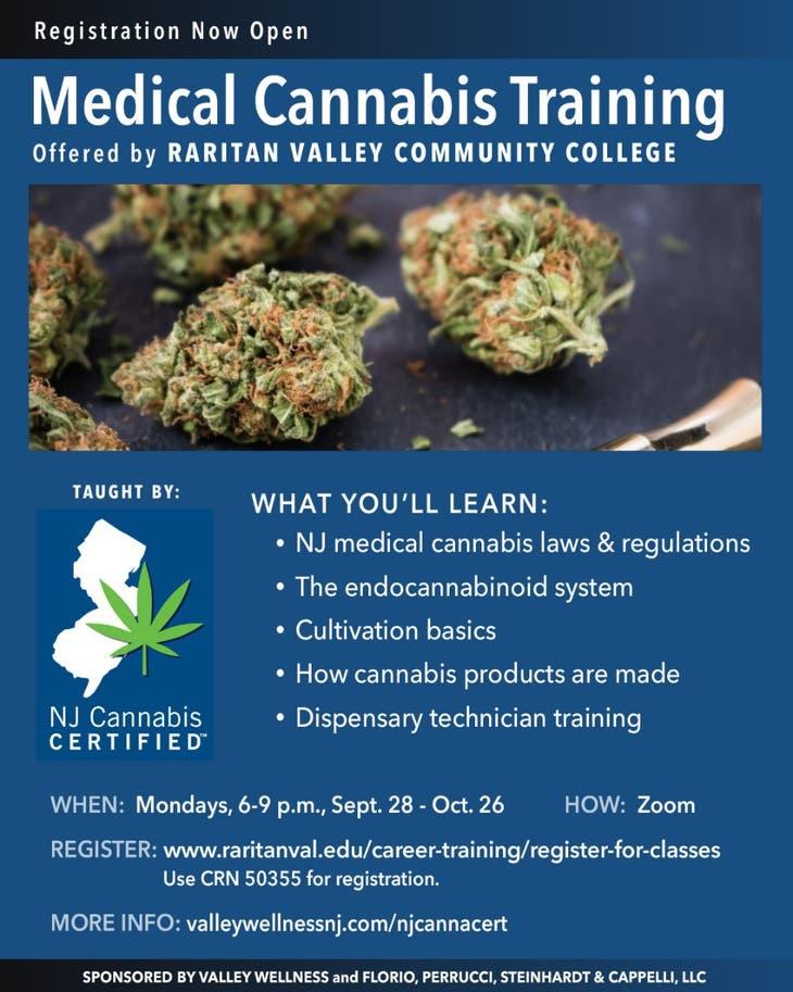 Certifié NJ Cannabis - Formation sur le cannabis médical