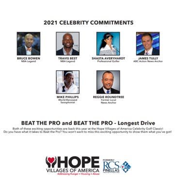 Hope Villages of America Announces Celebrity Classic Weekend