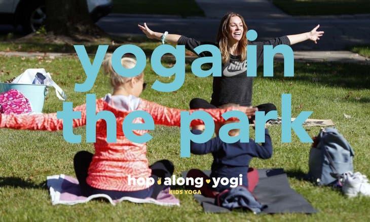 Hop Along Yogi: Yoga In The Park