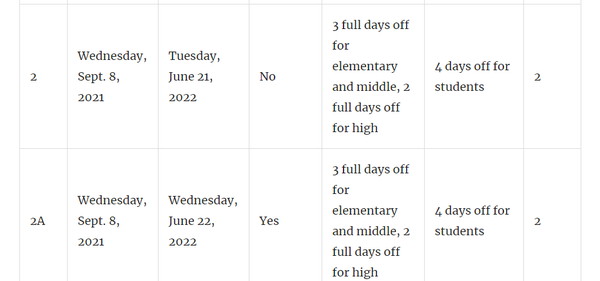 Aacps Calendar 2022.School Start Date Aacps Prepares To Settle Debate Pick Calendar Annapolis Md Patch