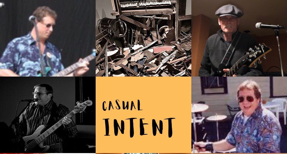 Casual Intent band for hire