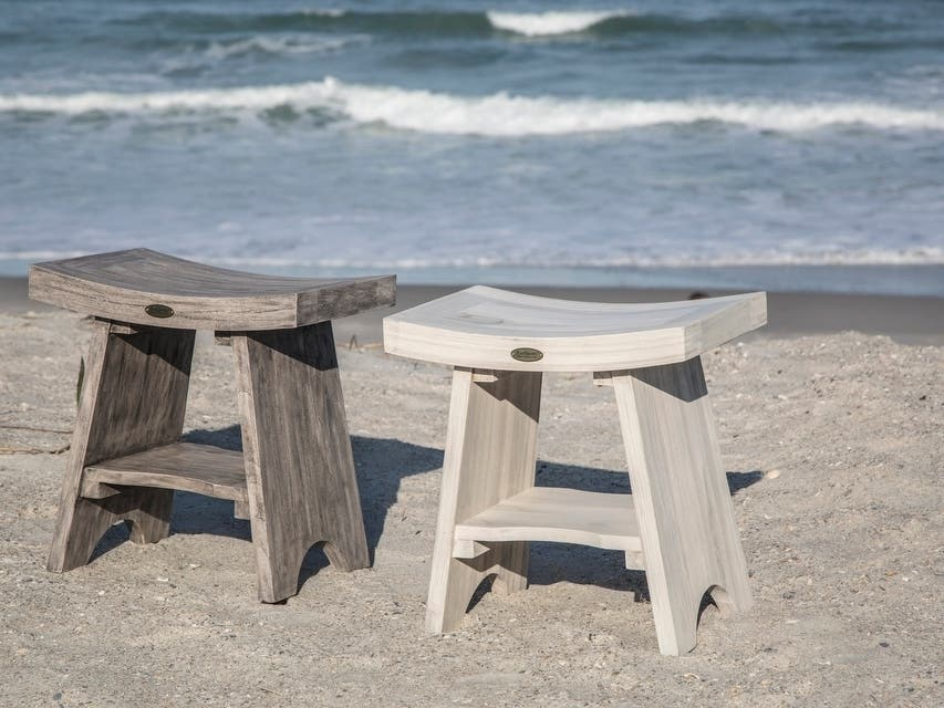 DecoTeak Introduces Teak Colors for Bath and Outdoor Furniture
