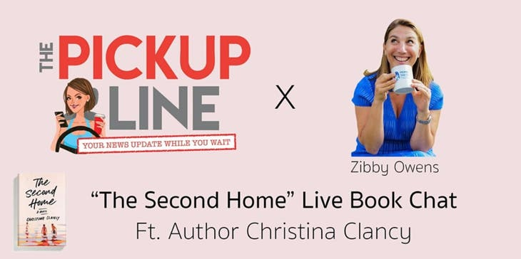 The Pickup Line x Zibby Owens Live Book Chat ft Author Christina