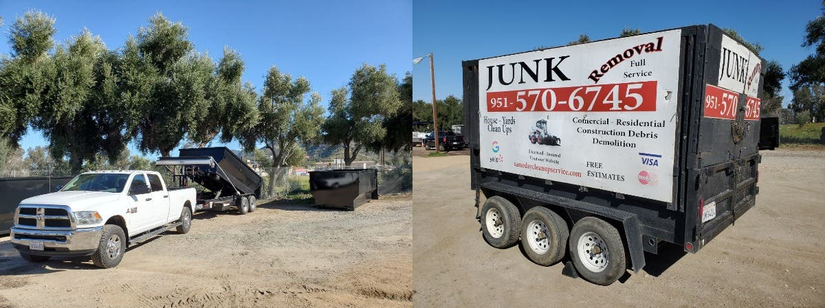 Same day Cleanup & Hauling /Junk Removal