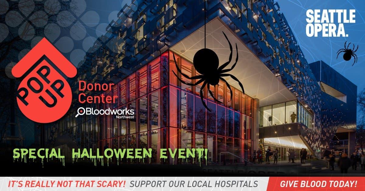 Local Event: Seattle Opera Fall Blood Drive