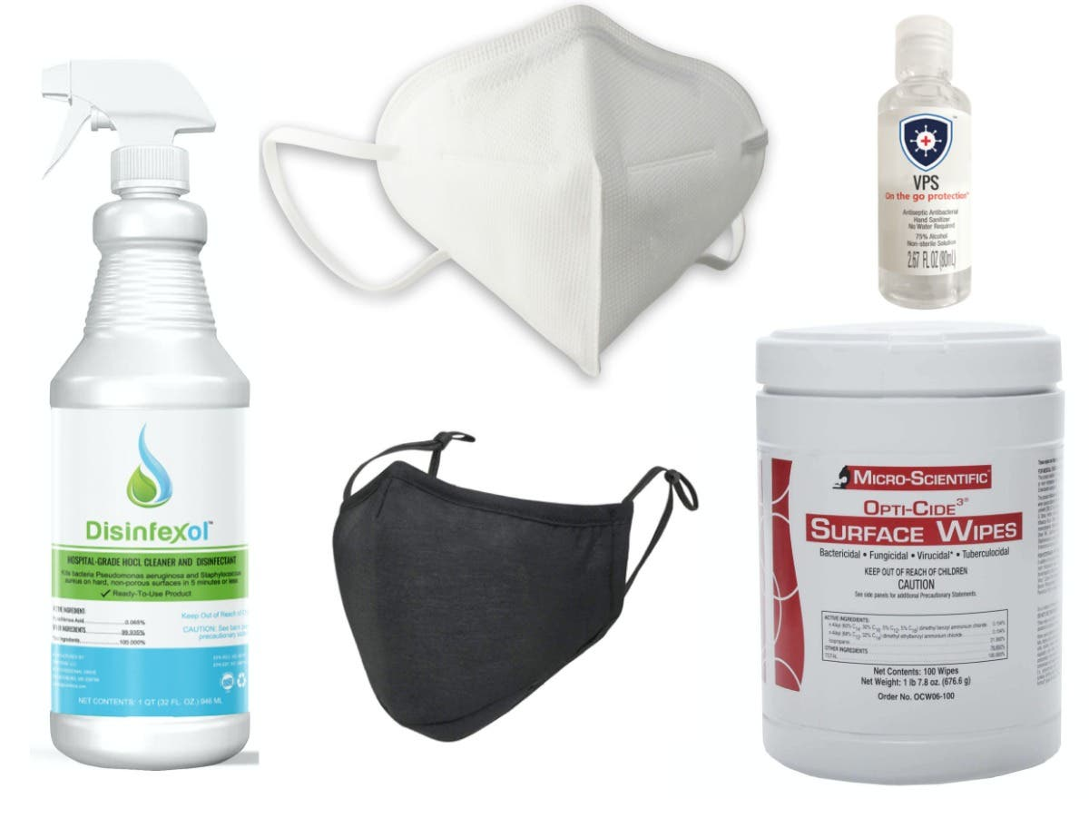 All Masks, Disinfectant Wipes, Sprays & Sanitizer are 10% OFF! - North Austin, TX Patch