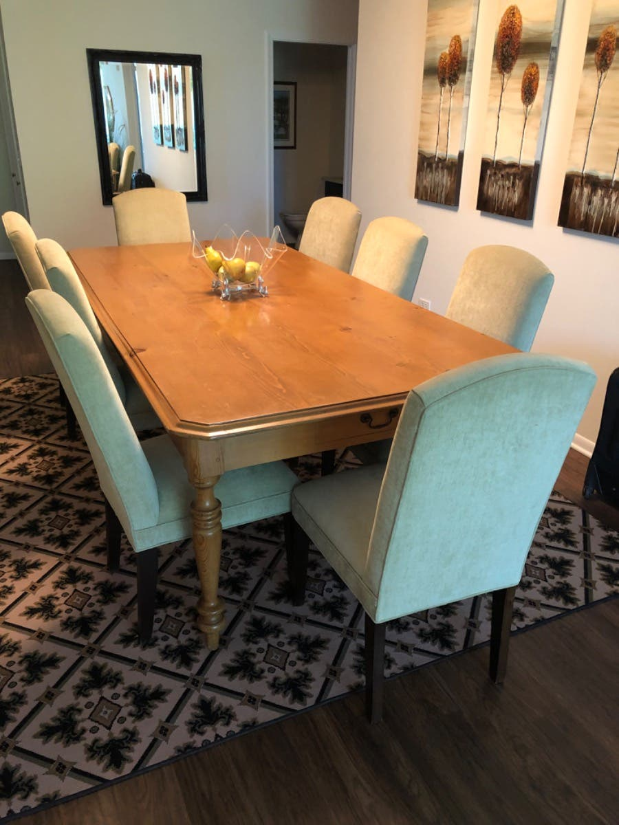 English Pine Library Dining Table Hinsdale Il Patch