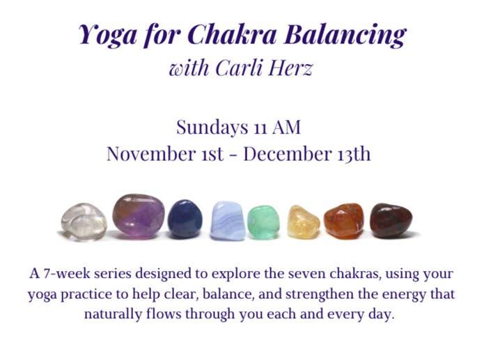 Yoga for Chakra Balancing