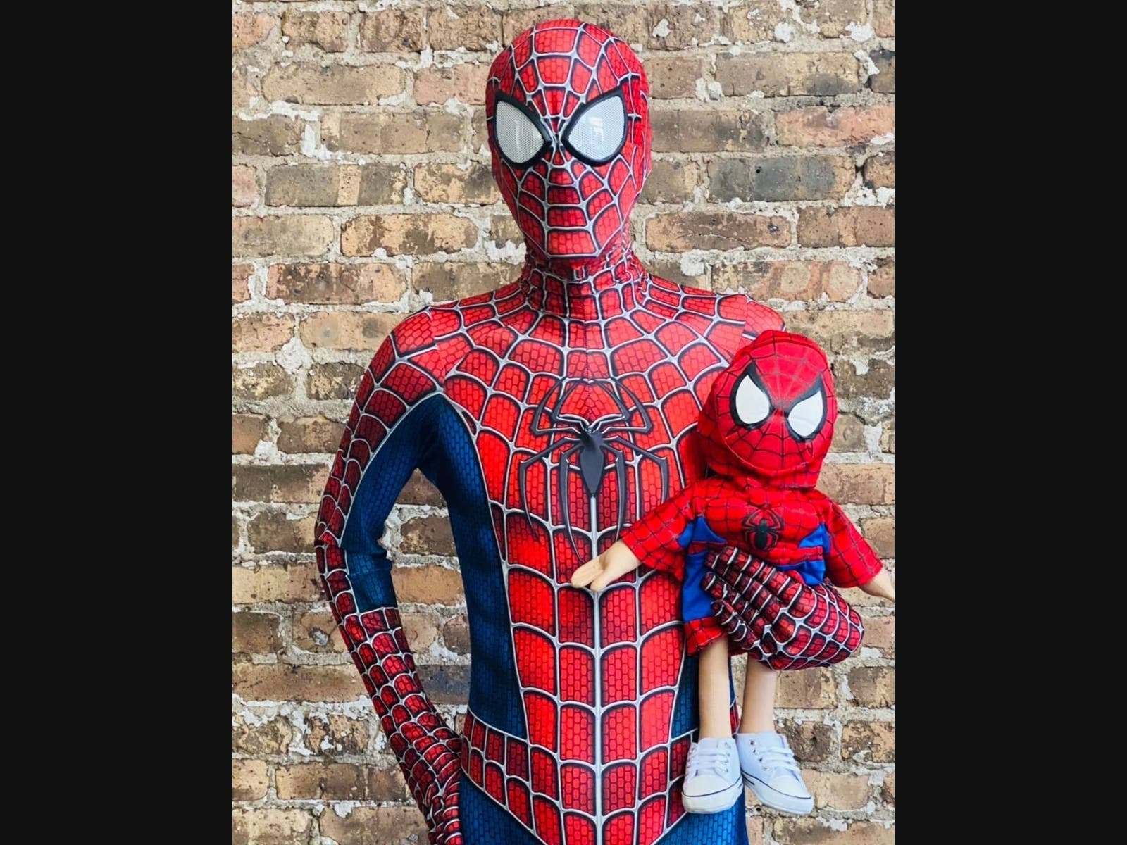 New Berlin Man Dons Spider-Man Costume To Make People's Day