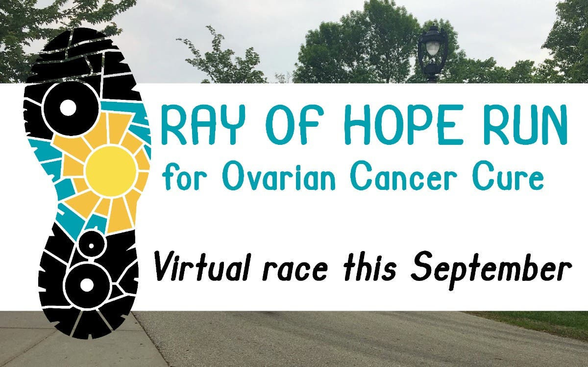 Sep 1 Ray Of Hope For Ovarian Cancer Cure Run Virtual Wauwatosa Wi Patch