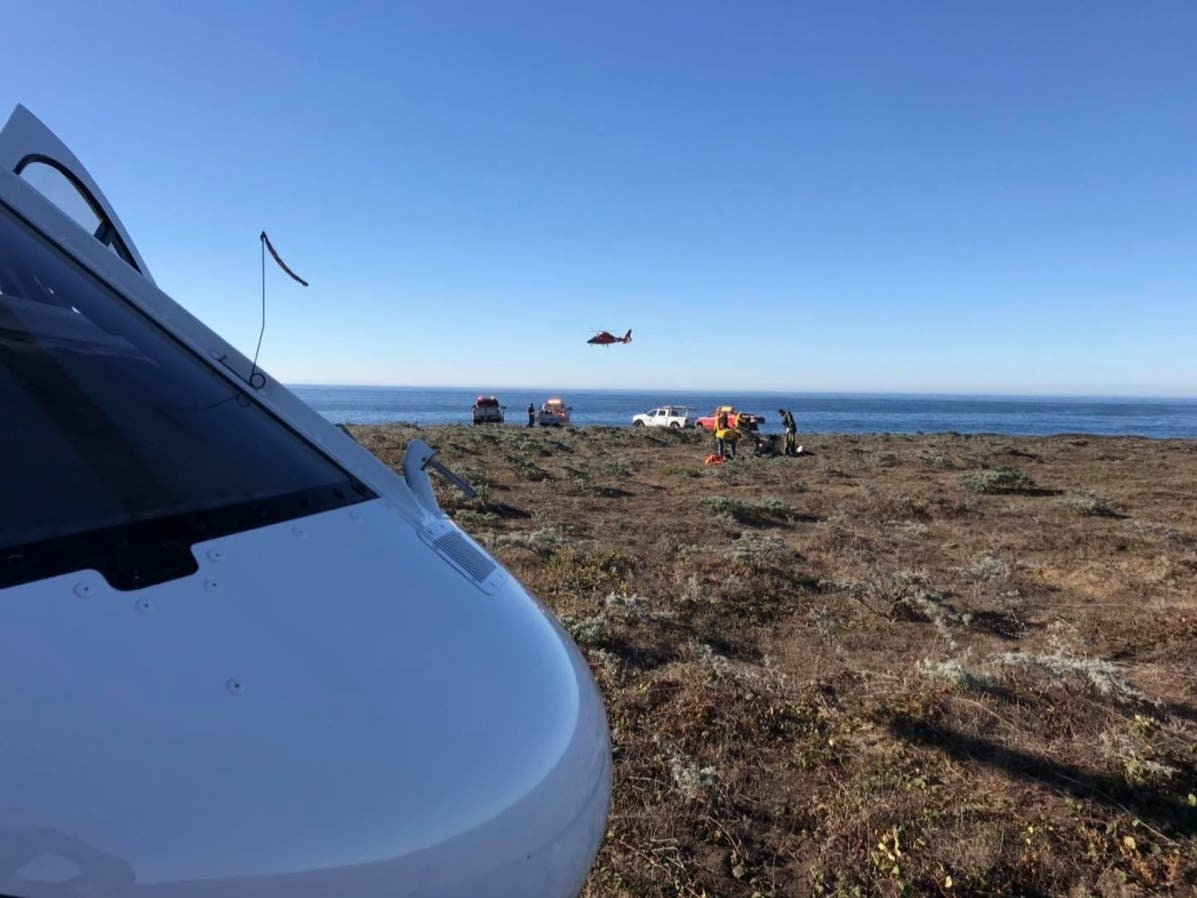 First Responders Team Up To Save Man Who Fell Off Fort Ross Cliff