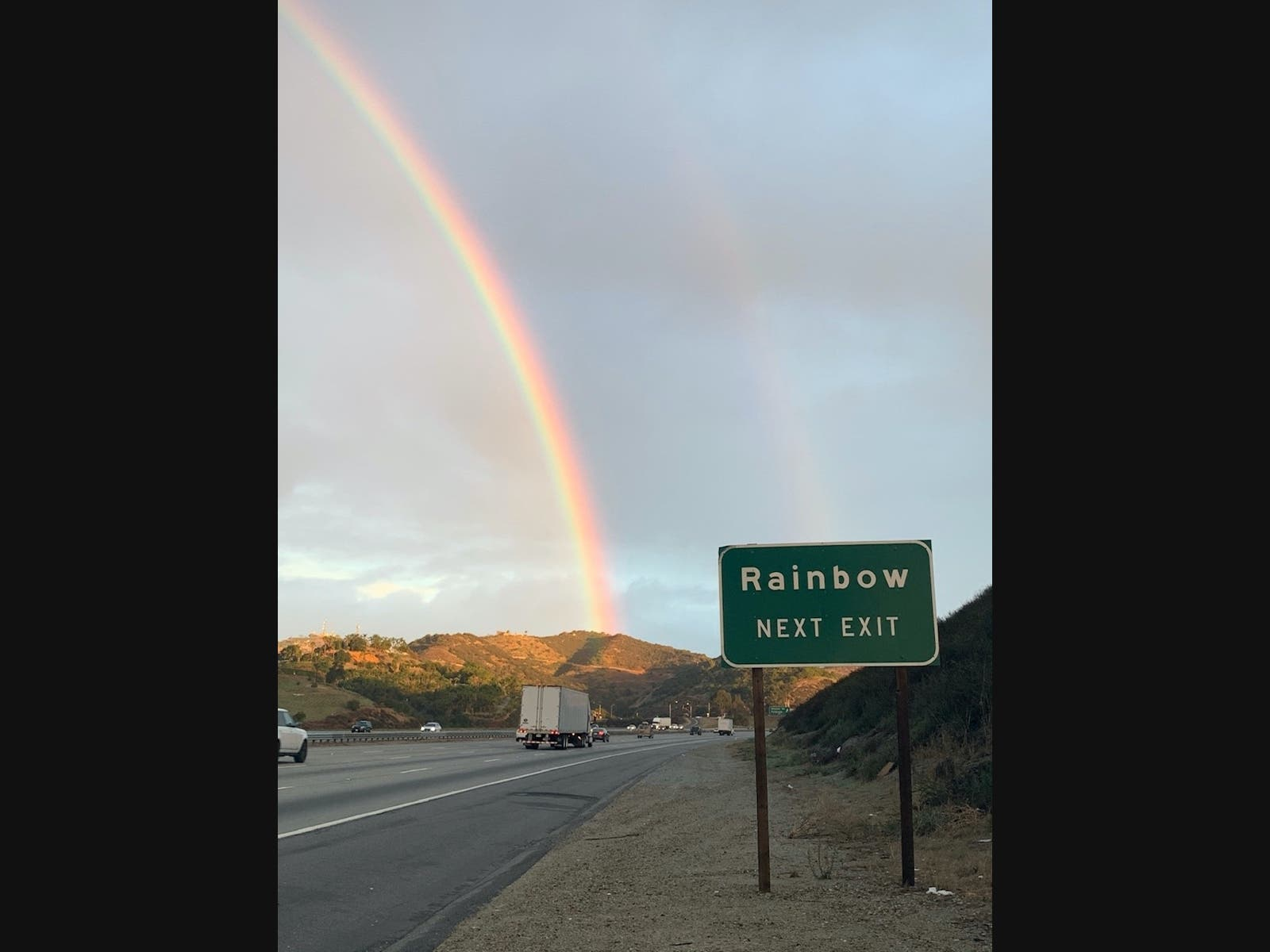 Serendipitous Weather In Rainbow: Photo Of The Day