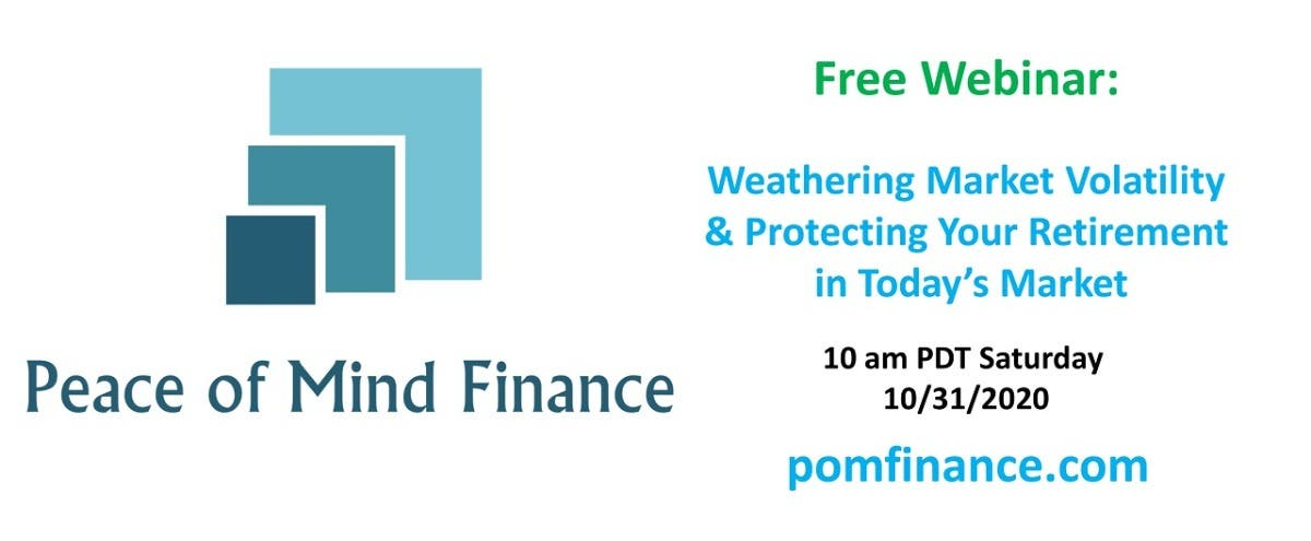 Local Event: Weathering Market Volatility and Protecting Your Retirement
