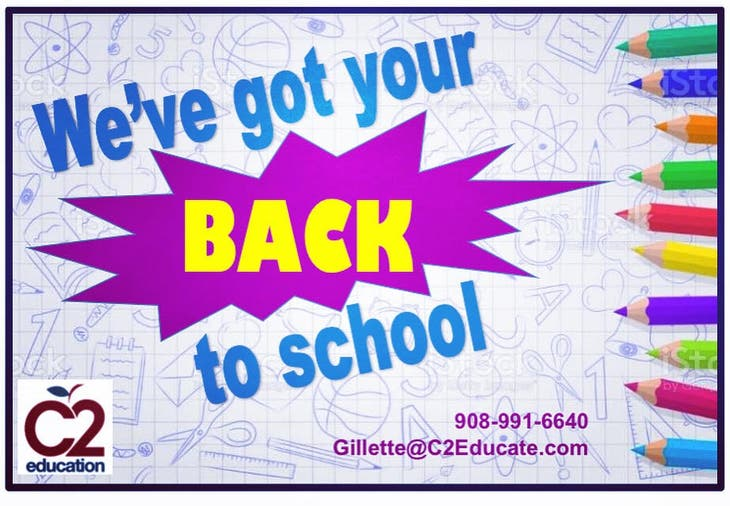C2 Education has your back to school!