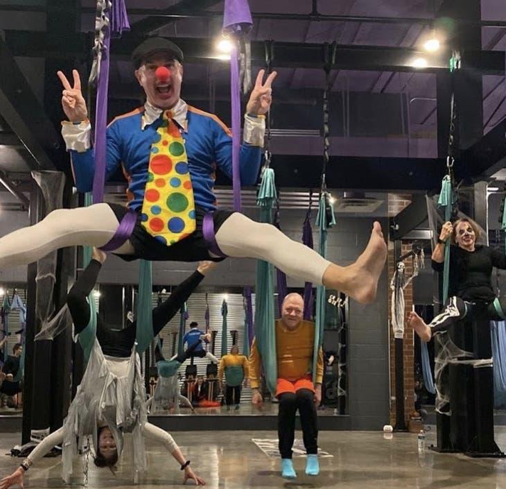 Hair-Raising Halloween-Themed Aerial Yoga Classes at SWET STUDIO®