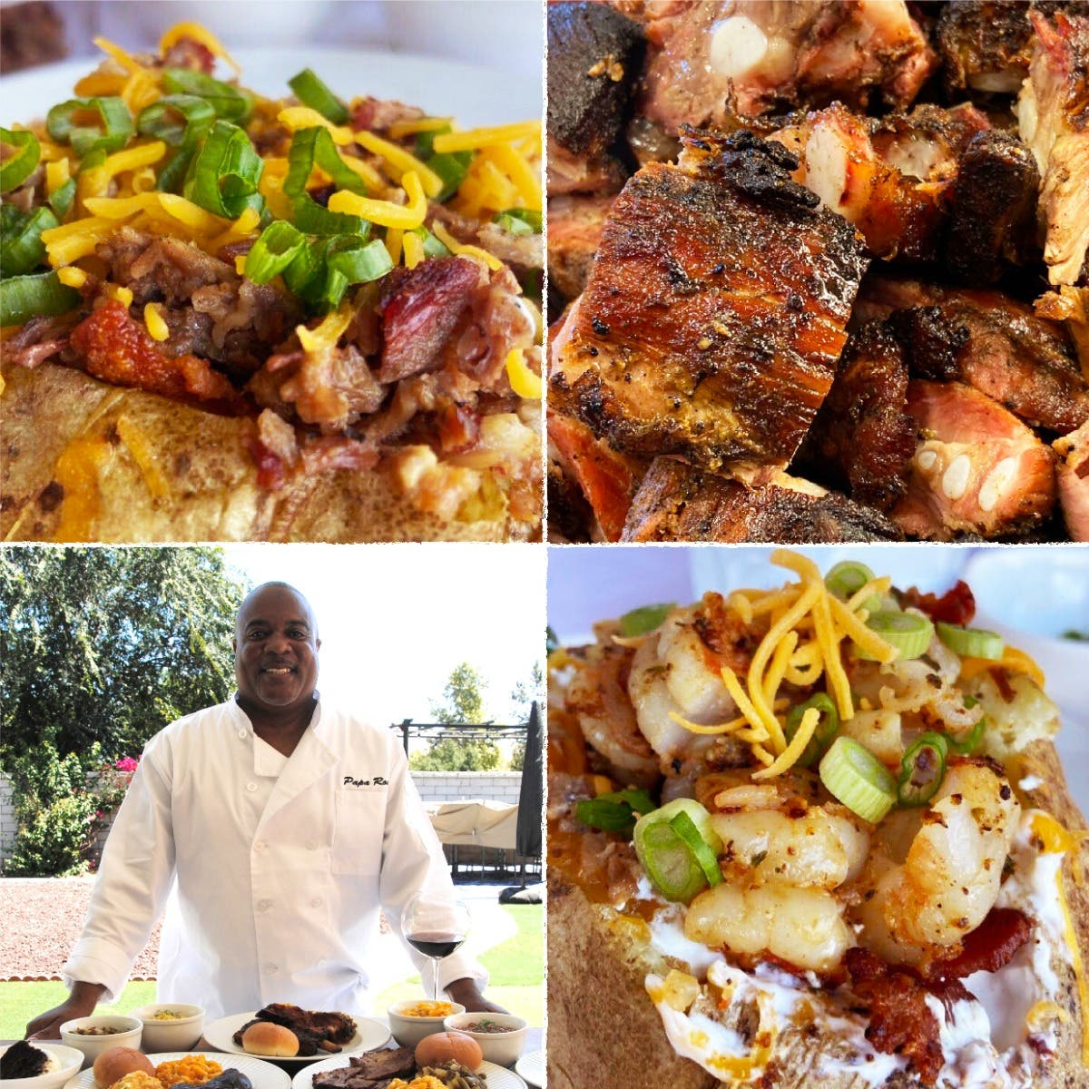 Local Event: Brisket & Shrimp Loaded Potatoes & more | Sunday Pickup in Perris