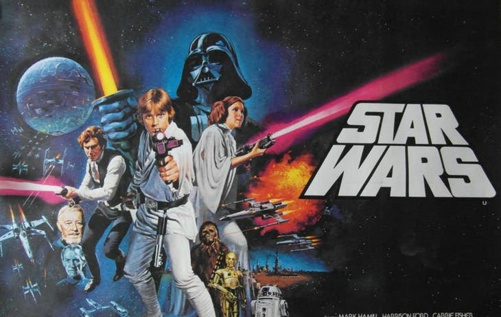 STAR WARS: A NEW HOPE Drive-in Movie (Star Wars 4)