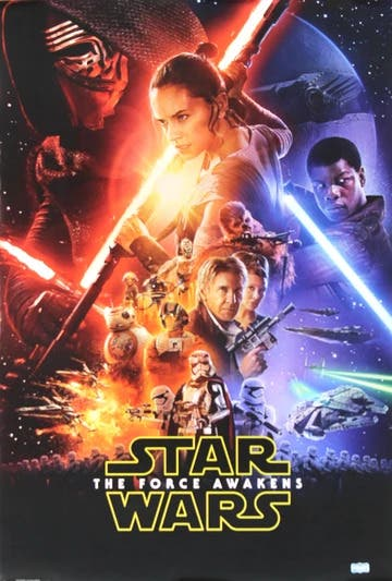 Star Wars: The Force Awakens Drive-In Movie