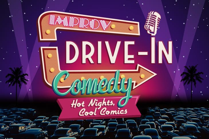 Improv Comedy Drive-In: Hot Nights, Cool Comics