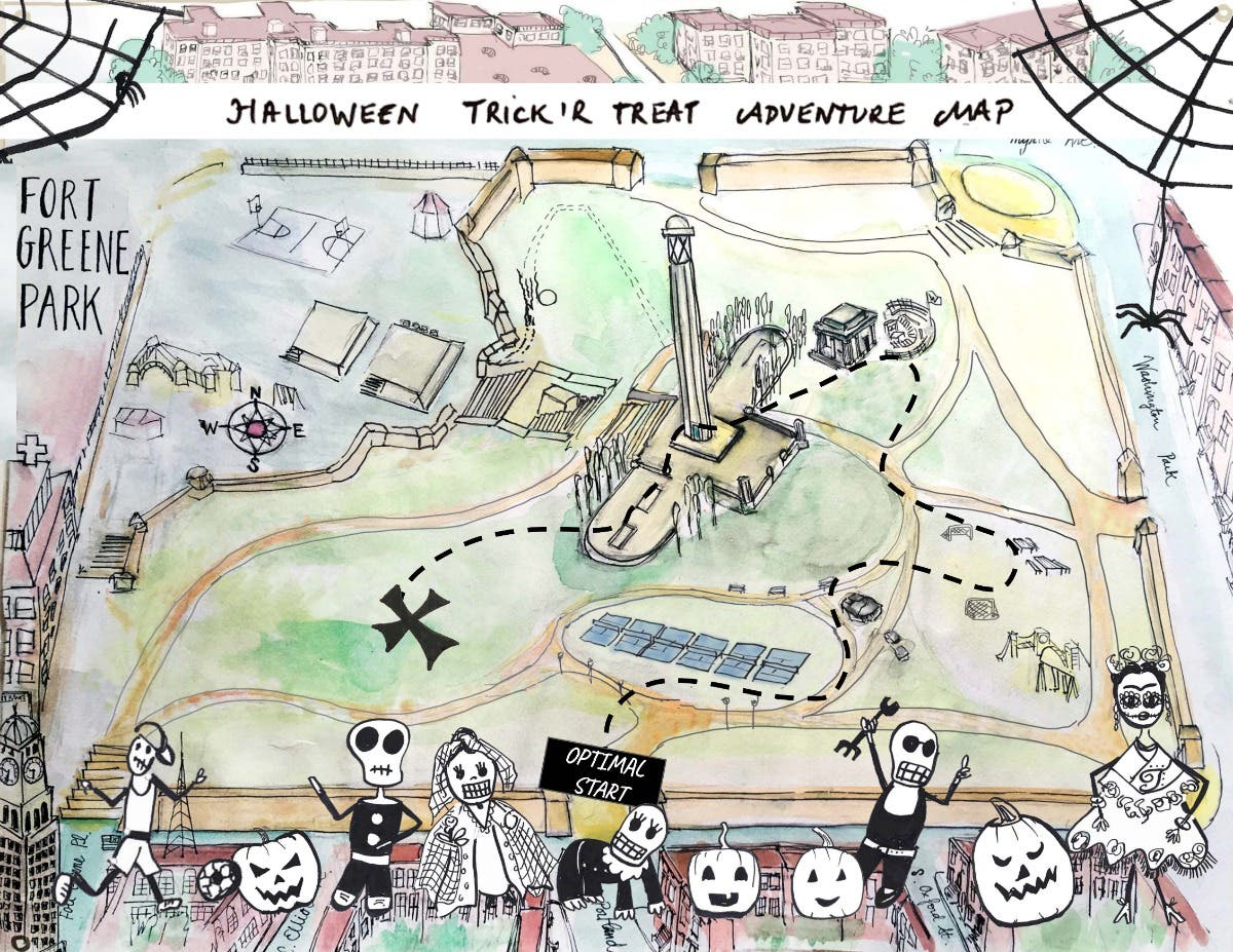 Oct 31 Halloween Trick Or Treat Adventure Free Fort Greene Ny Patch