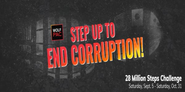 Still Time to Step Up to Corruption: NOW - 10/31!