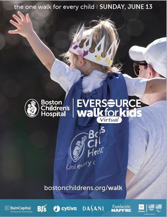 Eversource Virtual Walk for Boston Children's Hospital