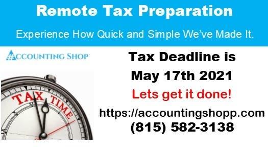 Remote Tax Preparation and Representation