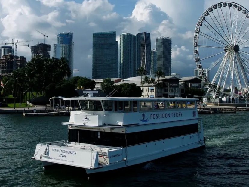 New Commuter Ferry Service Connects Miami, Miami Beach