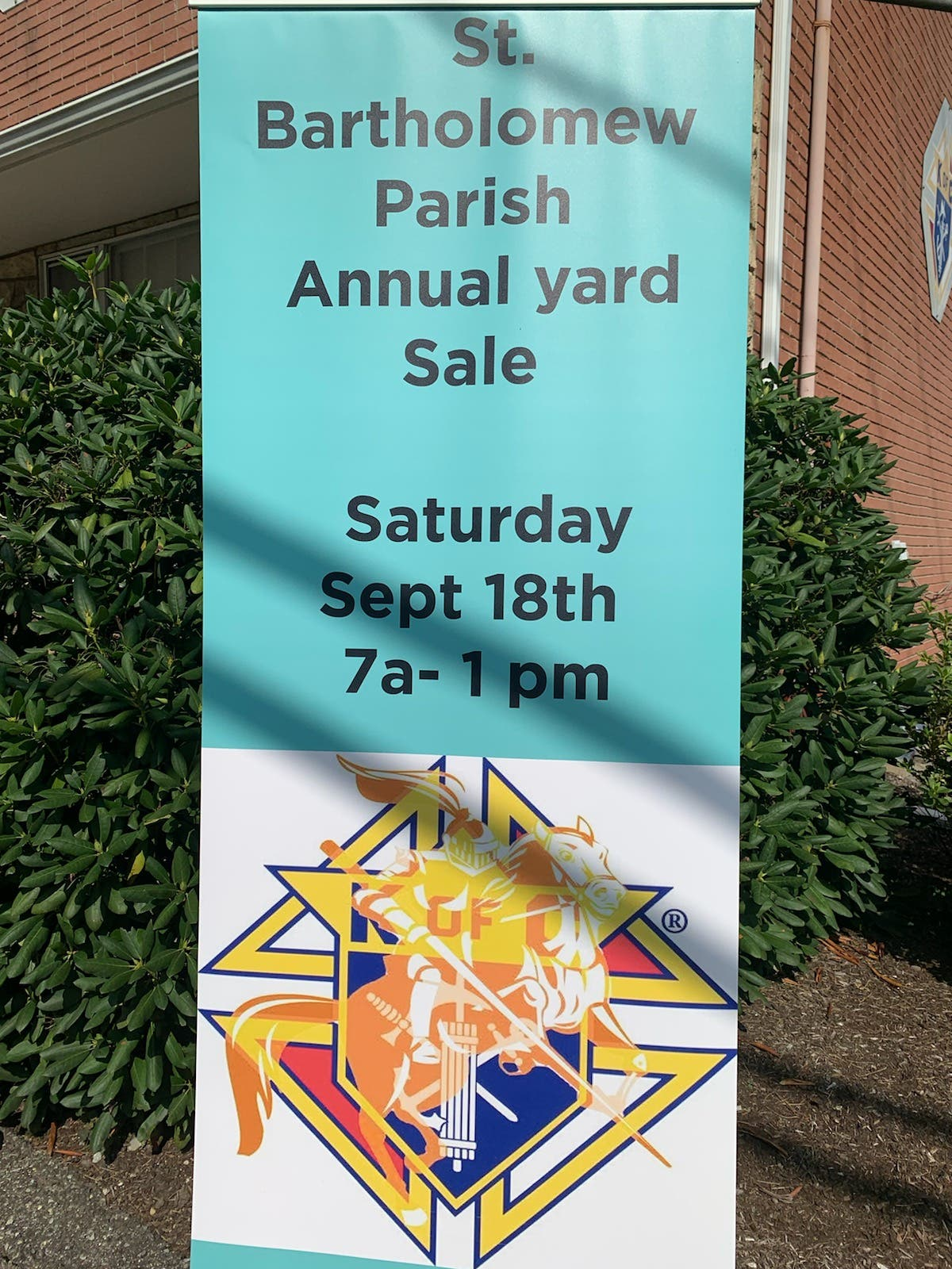 2021 GIANT Yardsale SHOPPERS WANTED