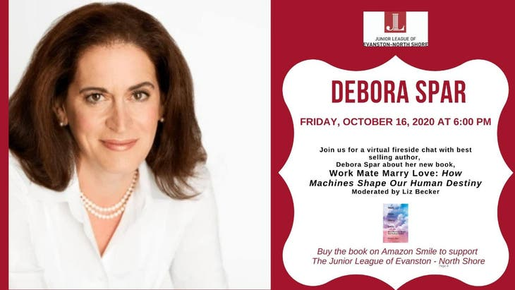 Virtual Fireside Chat with Bestselling Author Debora Spar