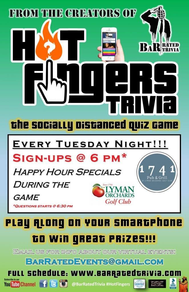 Hot Fingers Trivia @ 1741 Pub and Grill