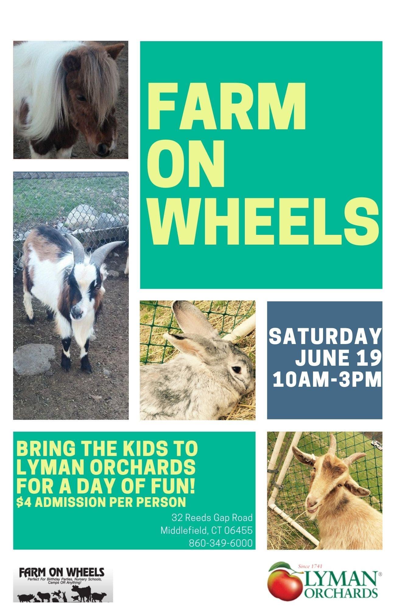 Farm on Wheels at Lyman Orchards