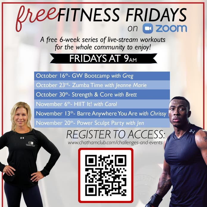 Free Fitness Fridays | Bootcamp Class | The Chatham Club