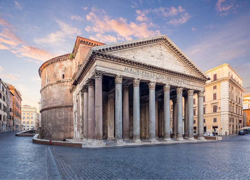 FREE WEBINAR | Italy's Great Monuments: Pantheon and Arch of Cons