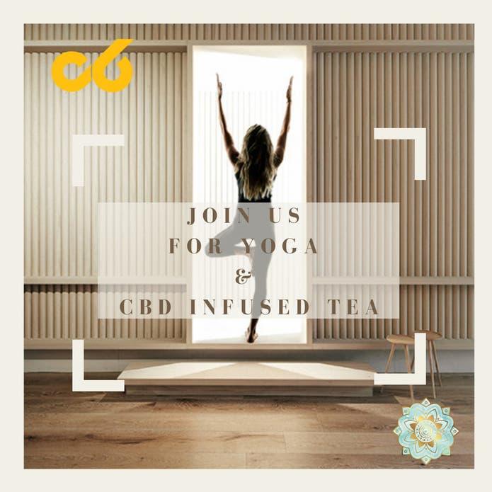 Free Yoga Class + CBD Infused Tea