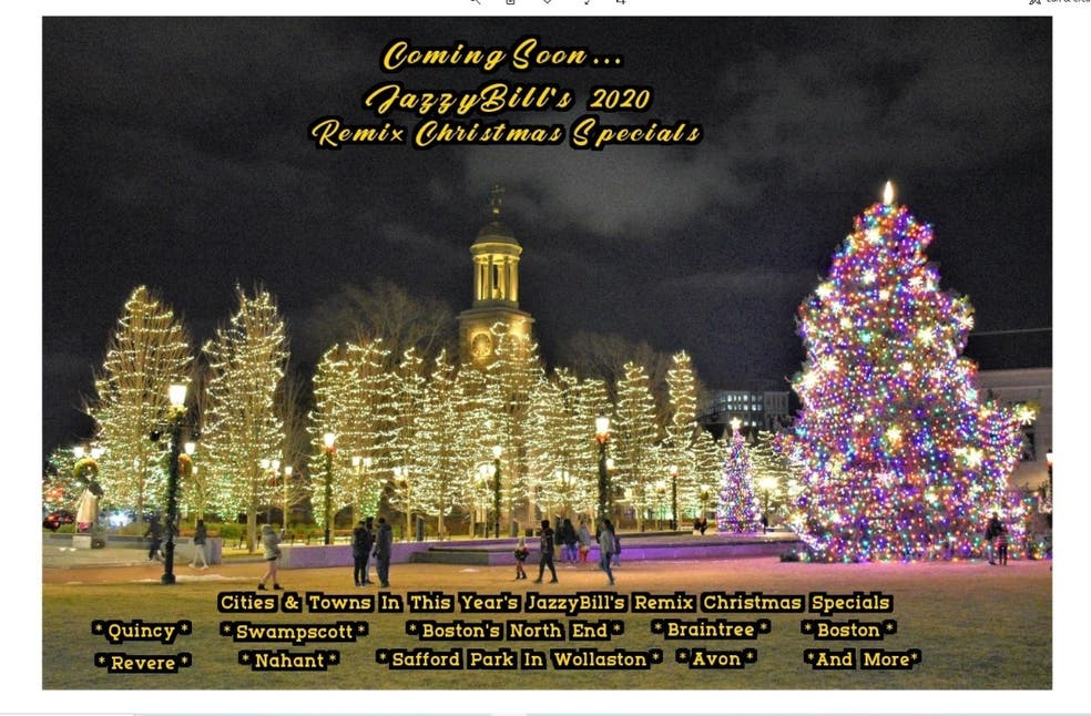 Christmas Trees Peabody Ma 2020 Dec 3   JazzyBill's 2020 Remix Christmas Specials coming in