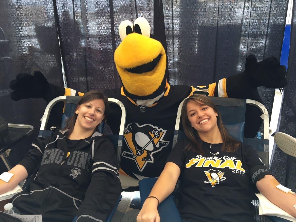 Pittsburgh Penguins Community Blood Drive