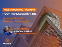 [Webinar] Roof Replacement 101: Everything You Need to Know