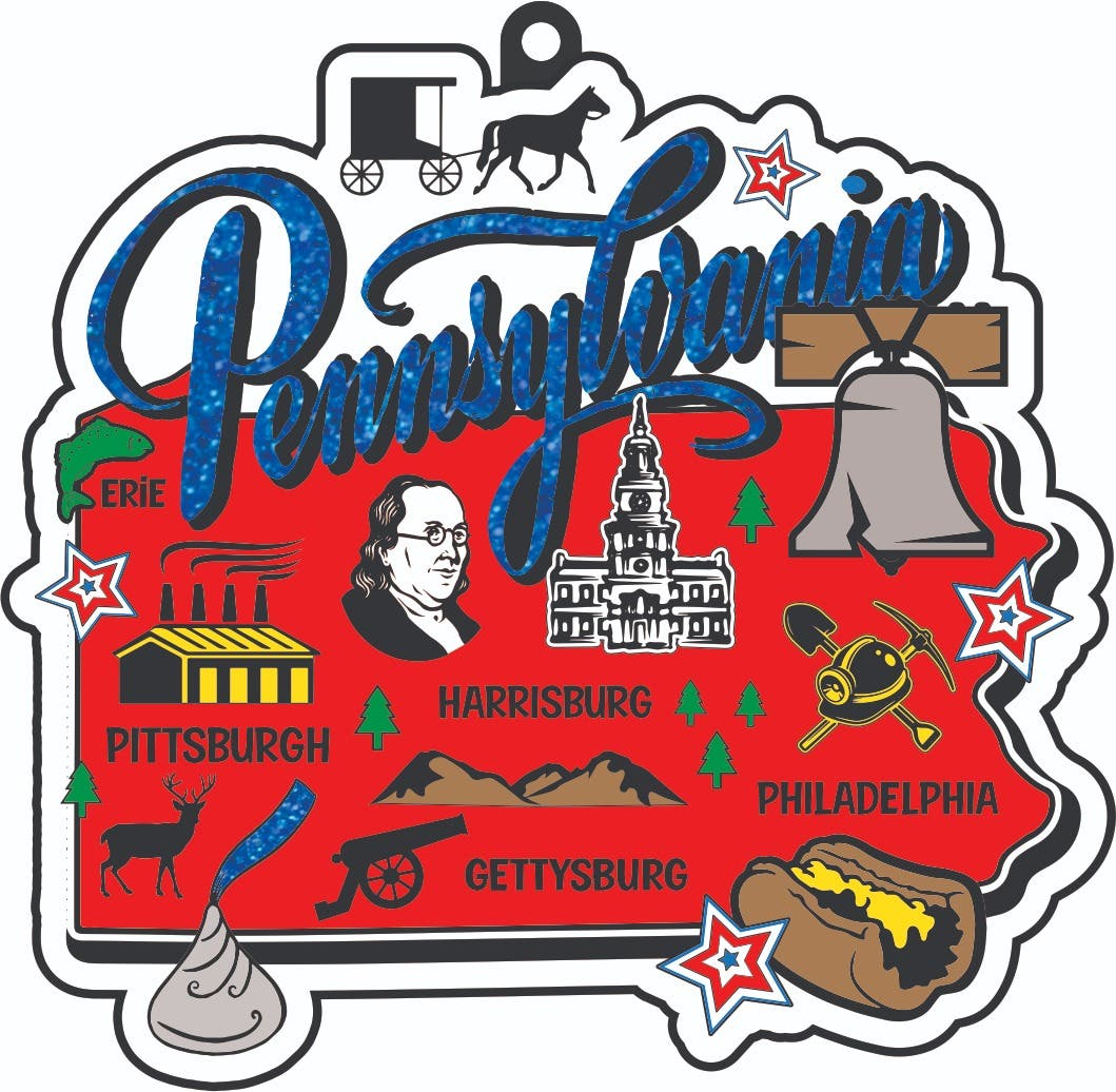 Race Thru Pennsylvania 1M 5K 10K 13.1 26.2 -Participate from home