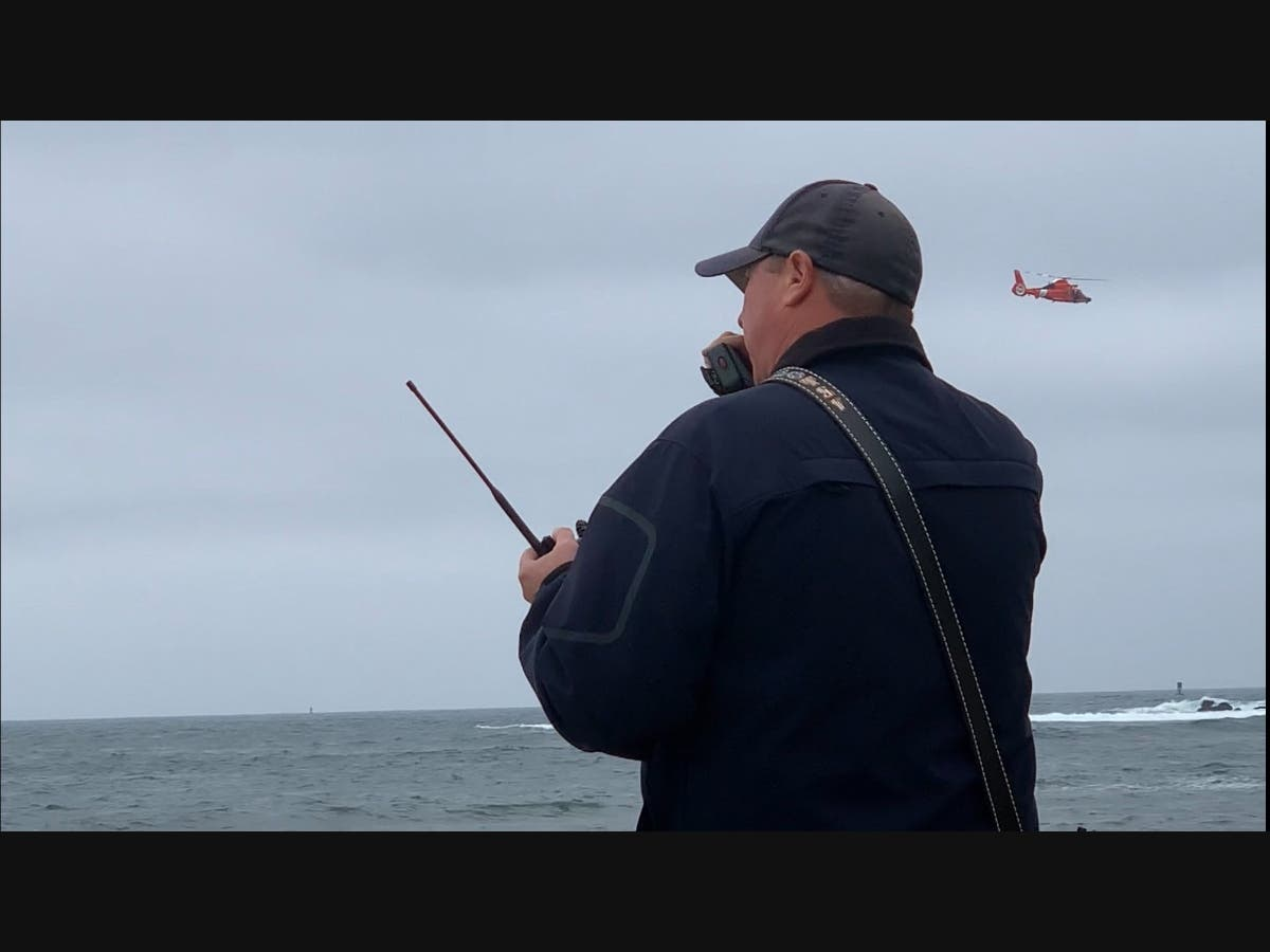 Crews Search For Potential Missing Kayaker Near Half Moon Bay