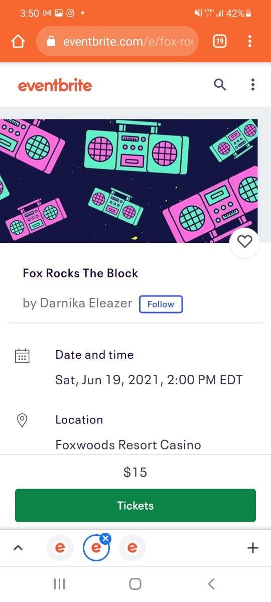 Fox Rocks The Block
