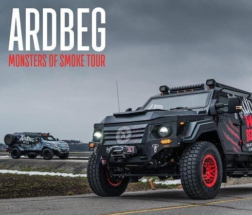 Ardbeg's Monsters of Smoke Tour Comes to Montecito