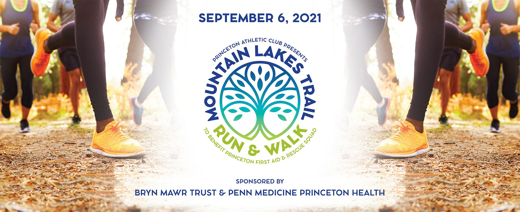 Mountain Lakes 5k Trail Run & Walk to Benefit the Princeton First Aid & Rescue Squad