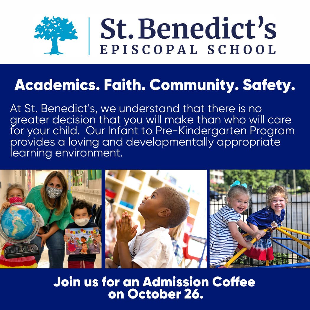 Admissions Coffee:  Preschool 1s - Pre-Kindergarten familes