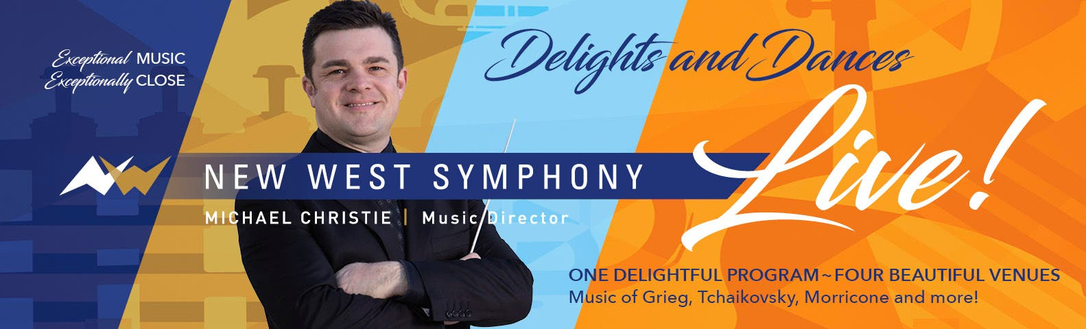 New West Symphony on Tour: Delights and Dances October 16th-19th