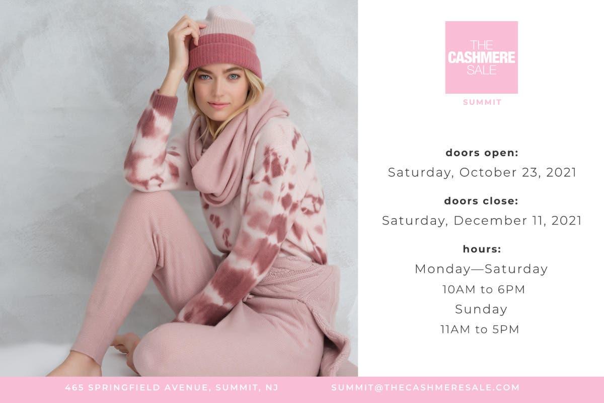 The Cashmere Sale - October 23 - December 11