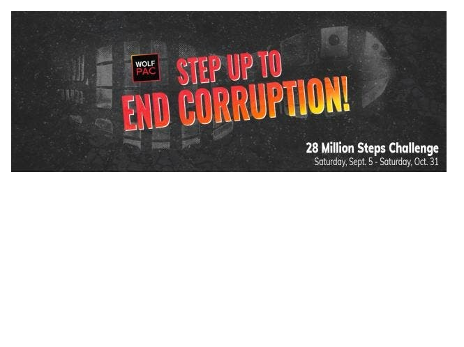 Still Time to Challenge Corruption - Step Up Now Through 10/31!