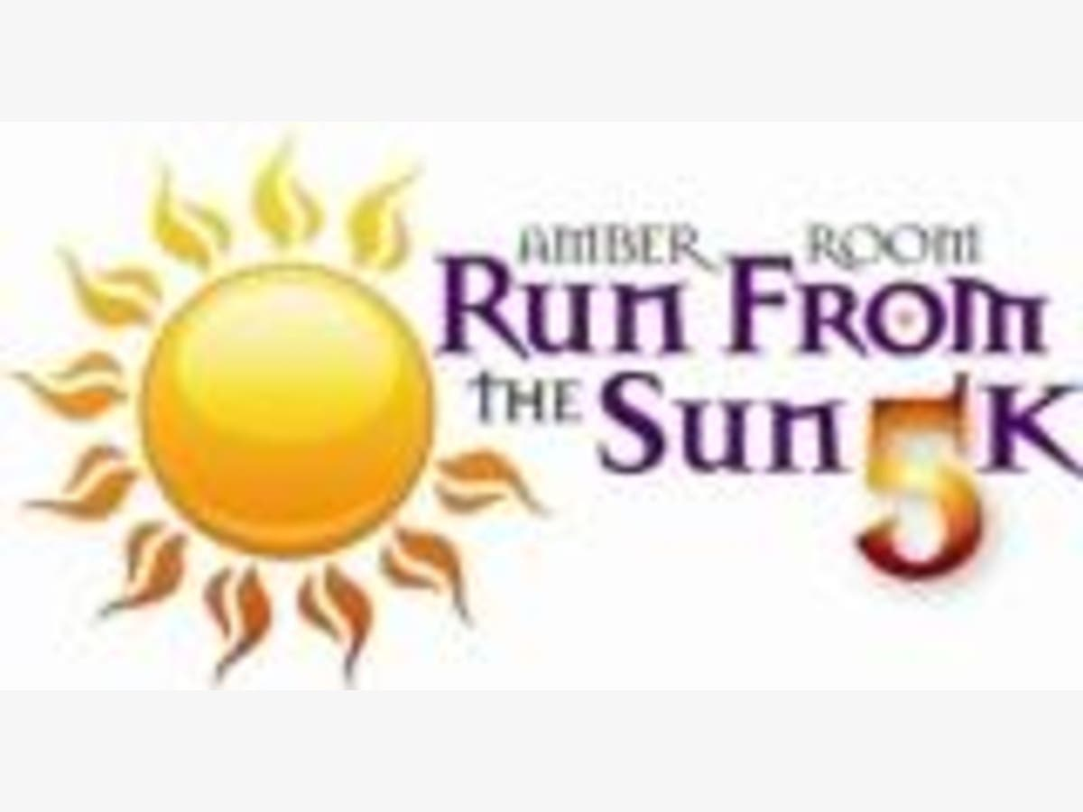 Amber Room Run from the Sun 5K Expects Over 400 Participants