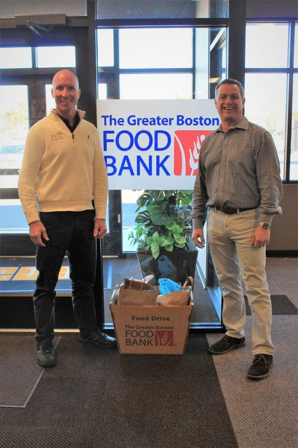 Fitworx Donates 400 Pounds Of Food To Greater Boston Food